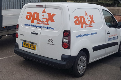 apex electrical van